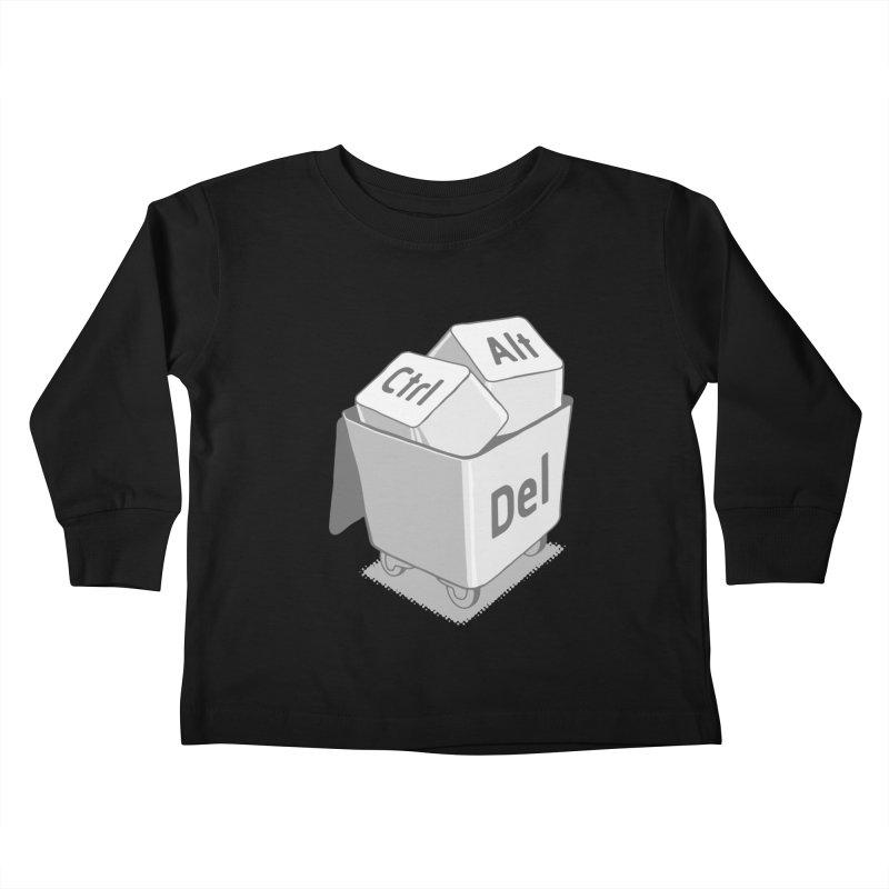 keyboard Kids Toddler Longsleeve T-Shirt by gotoup's Artist Shop