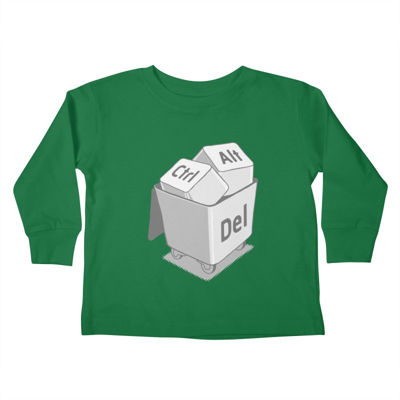 keyboard Kids Toddler Longsleeve T-Shirt by gotoup's Artist Shop