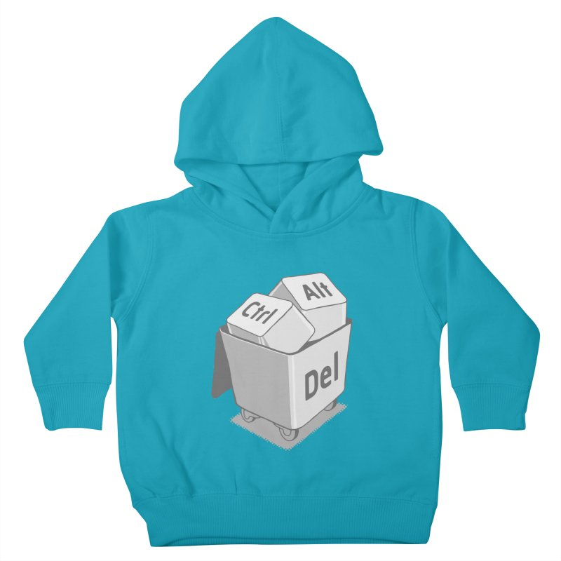 keyboard Kids Toddler Pullover Hoody by gotoup's Artist Shop