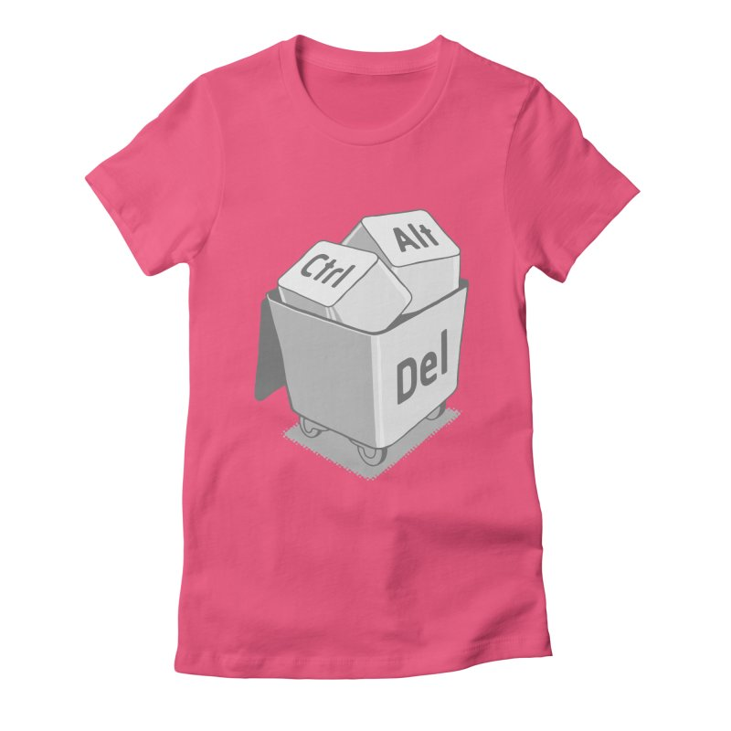 keyboard Women's Fitted T-Shirt by gotoup's Artist Shop
