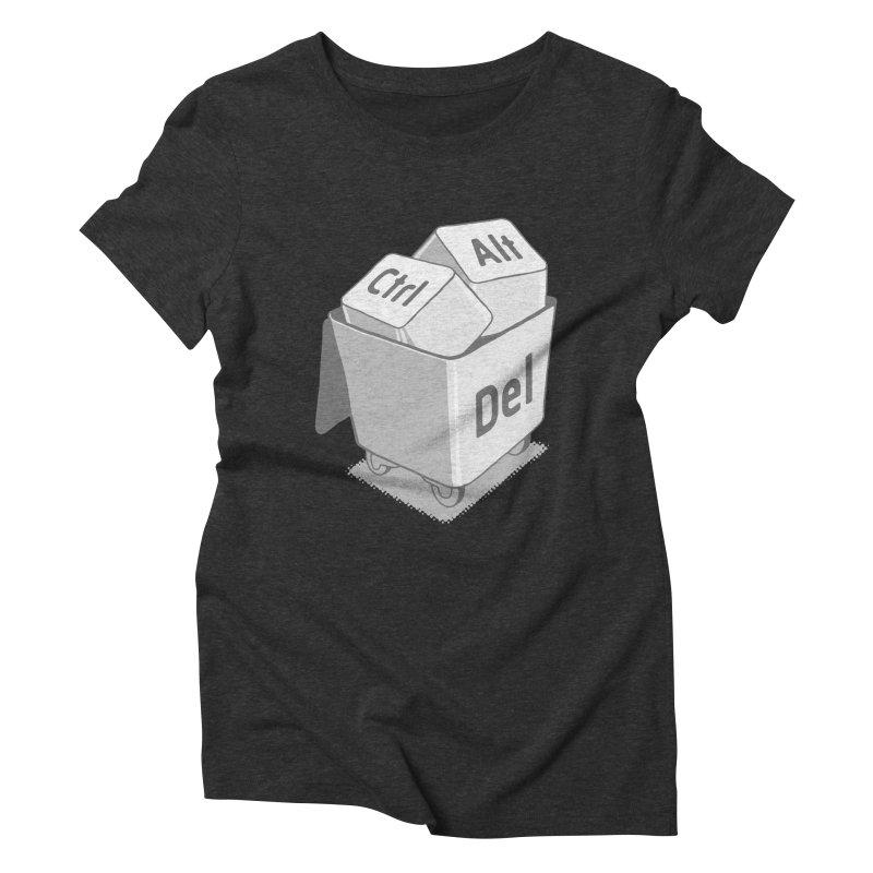 keyboard Women's Triblend T-shirt by gotoup's Artist Shop