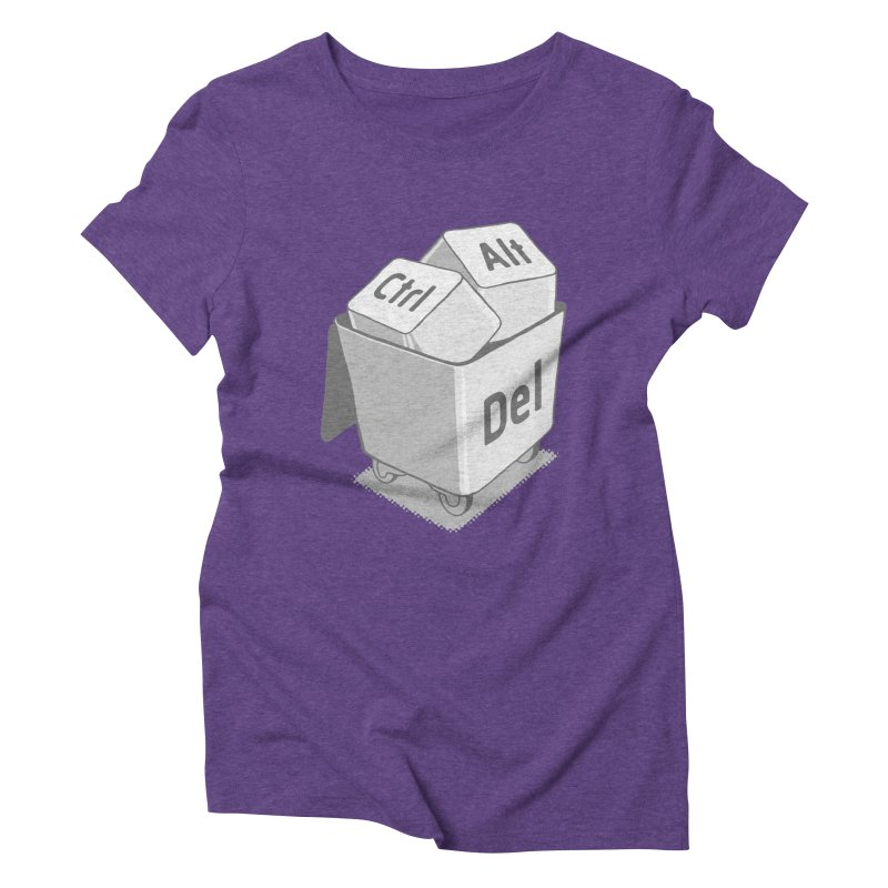 keyboard Women's Triblend T-shirt by gotoup's Artist Shop