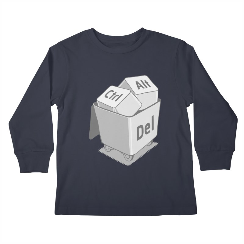 keyboard Kids Longsleeve T-Shirt by gotoup's Artist Shop