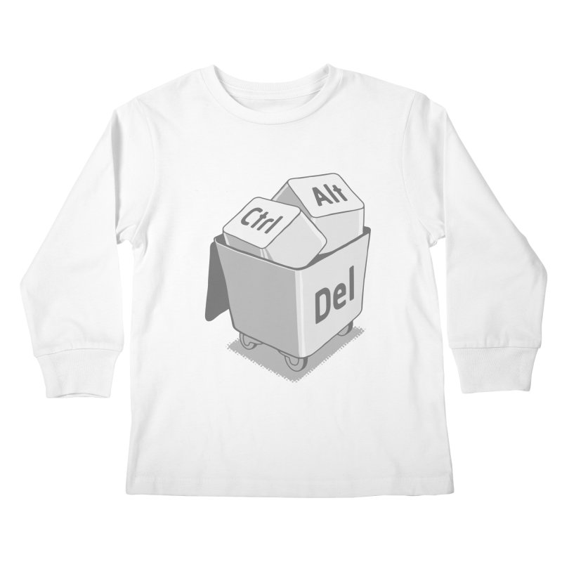 keyboard Kids Longsleeve T-Shirt by gotoup's Artist Shop
