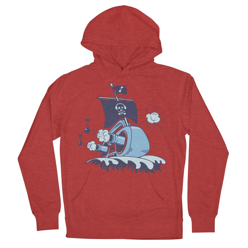 MUSICAL SHIP Women's Pullover Hoody by gotoup's Artist Shop