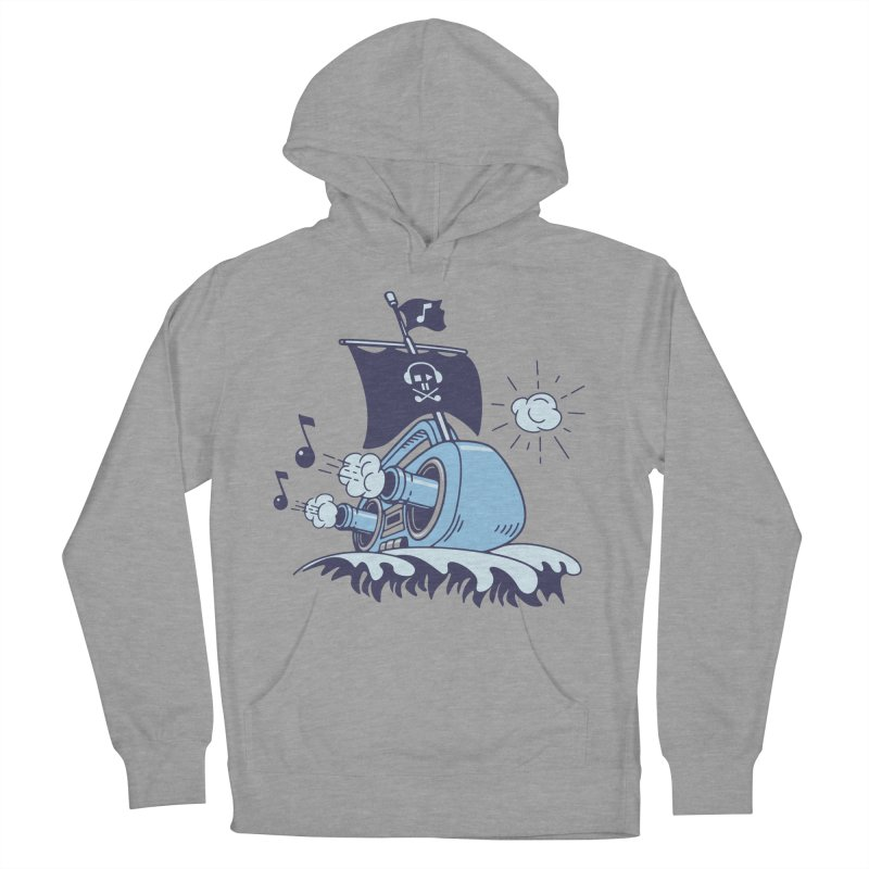 MUSICAL SHIP Men's Pullover Hoody by gotoup's Artist Shop