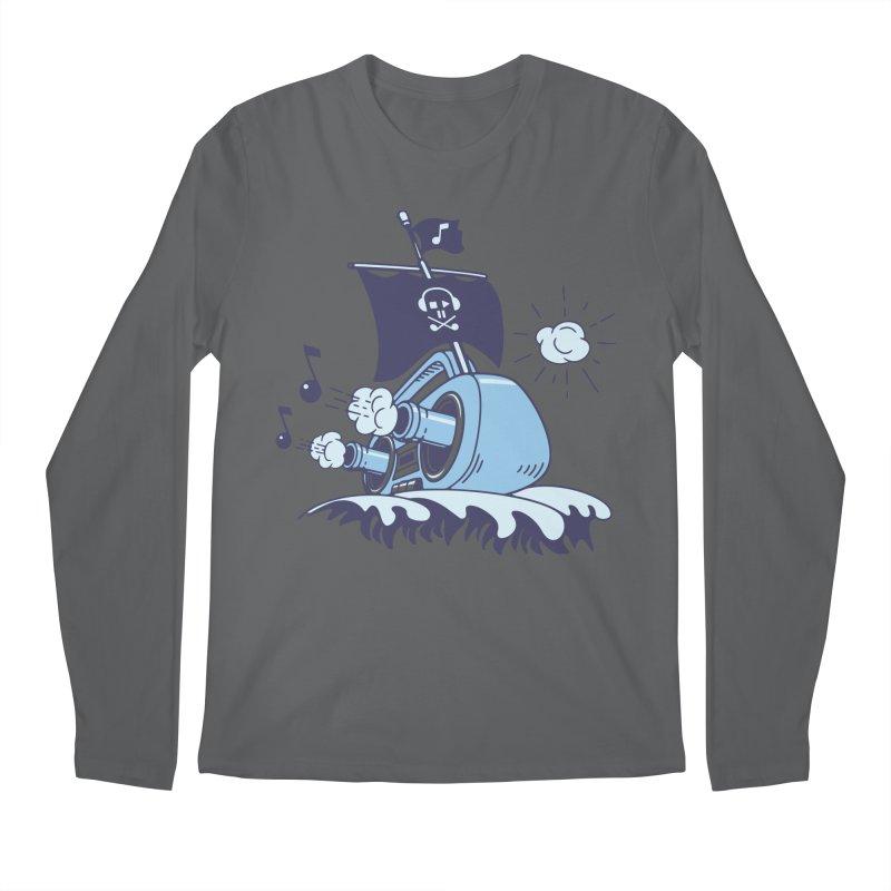 MUSICAL SHIP Men's Longsleeve T-Shirt by gotoup's Artist Shop