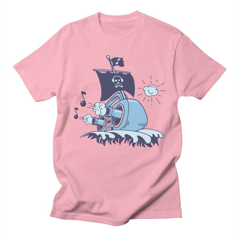 MUSICAL SHIP Men's T-Shirt by gotoup's Artist Shop