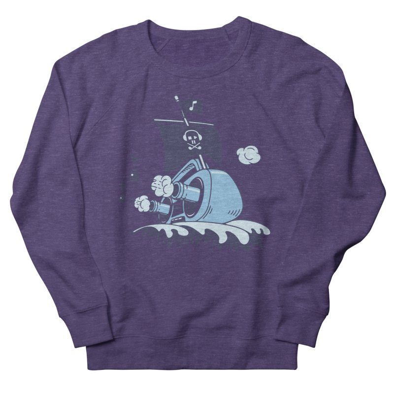 MUSICAL SHIP Women's French Terry Sweatshirt by gotoup's Artist Shop