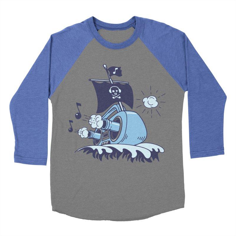 MUSICAL SHIP Men's Baseball Triblend Longsleeve T-Shirt by gotoup's Artist Shop