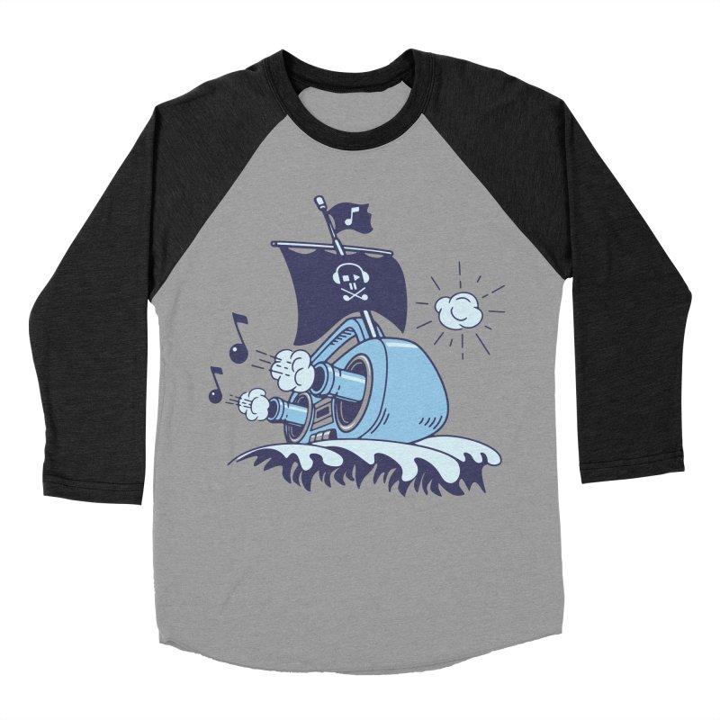 MUSICAL SHIP Men's Baseball Triblend T-Shirt by gotoup's Artist Shop