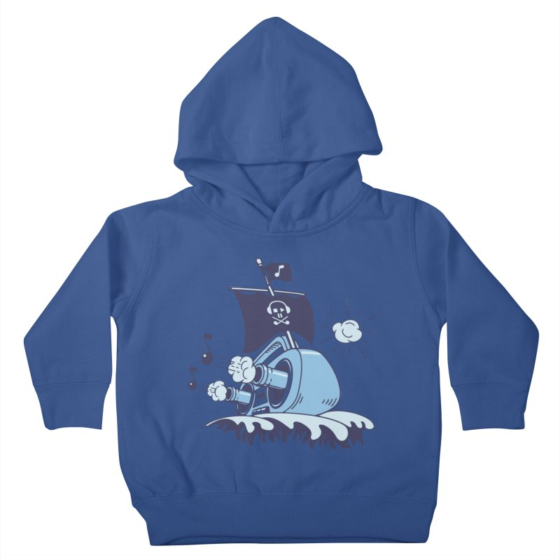 MUSICAL SHIP Kids Toddler Pullover Hoody by gotoup's Artist Shop
