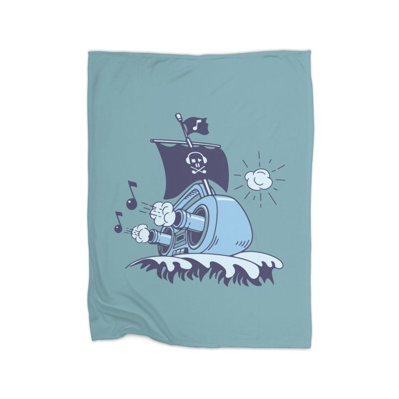 MUSICAL SHIP Home Blanket by gotoup's Artist Shop