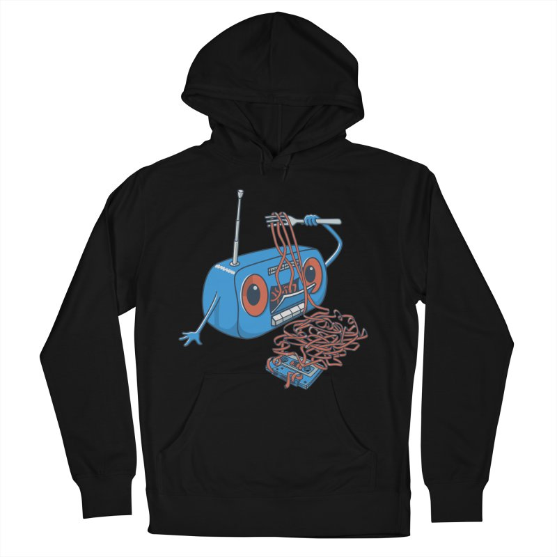 spaghetti Men's French Terry Pullover Hoody by gotoup's Artist Shop