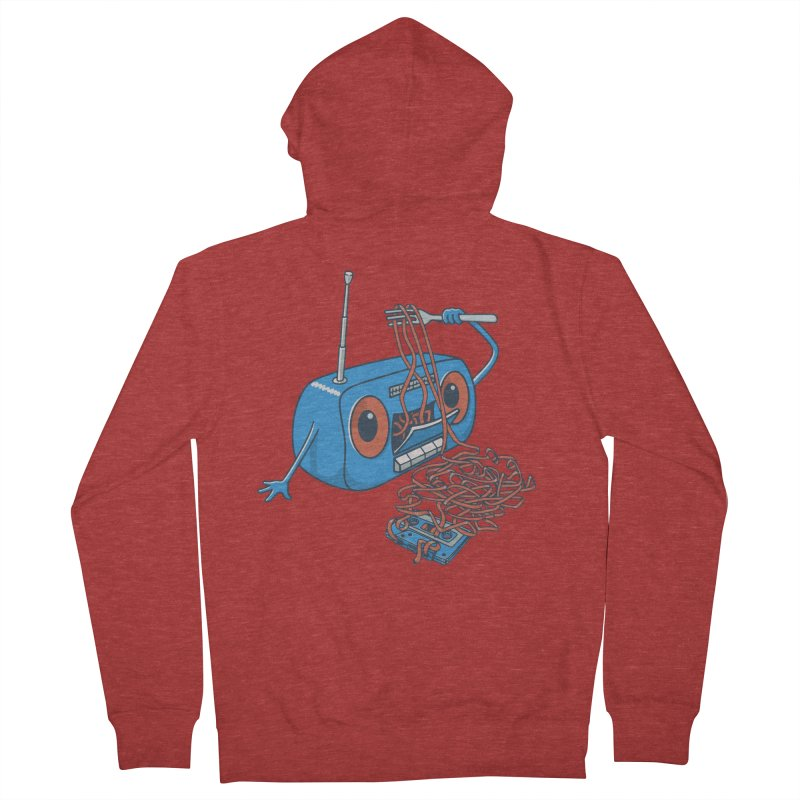 spaghetti Men's Zip-Up Hoody by gotoup's Artist Shop