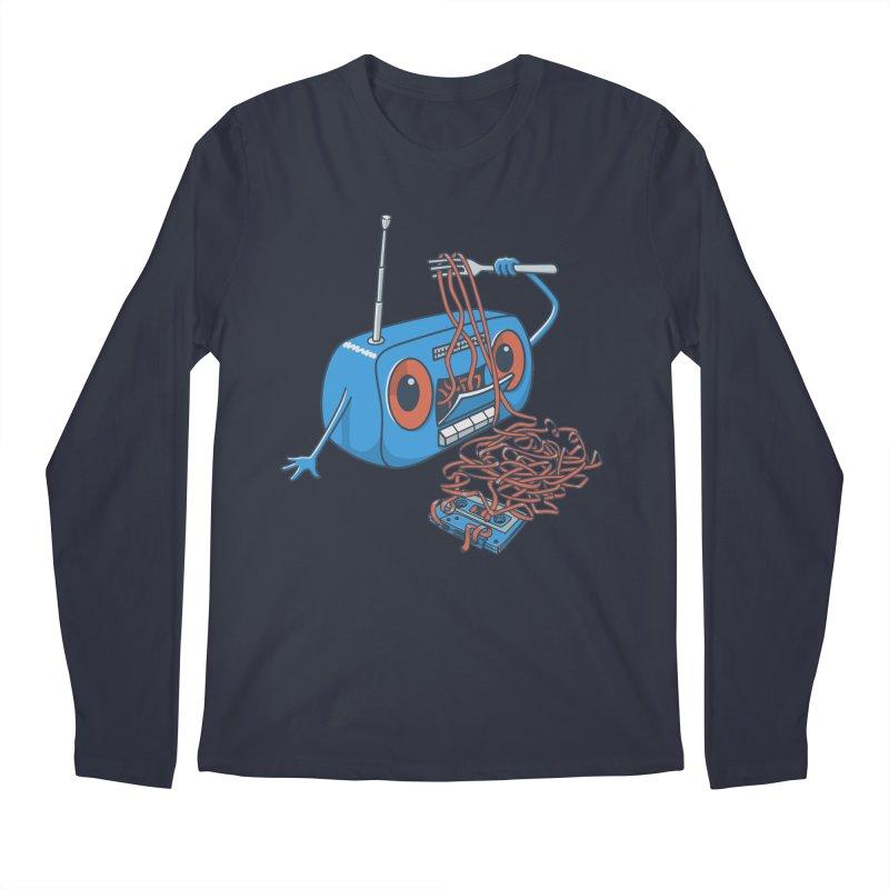 spaghetti Men's Longsleeve T-Shirt by gotoup's Artist Shop
