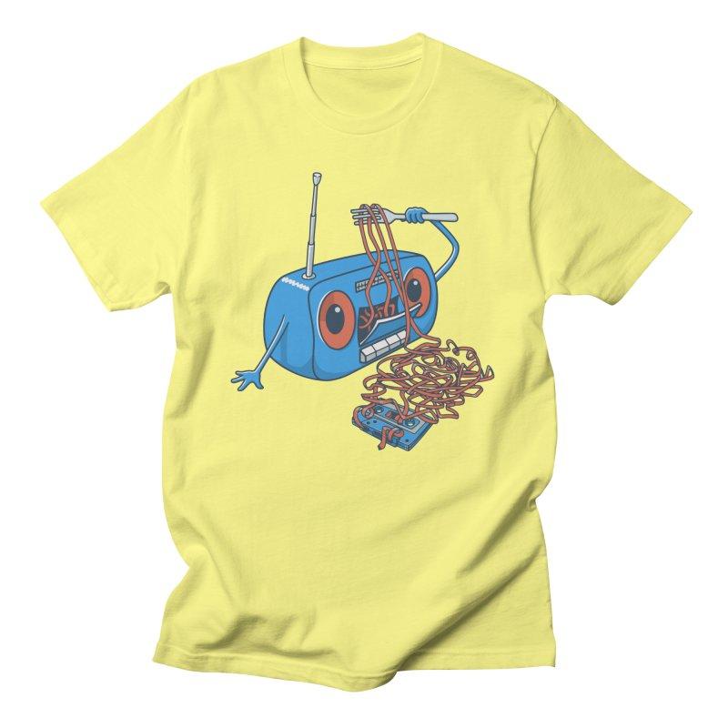 spaghetti Men's T-shirt by gotoup's Artist Shop