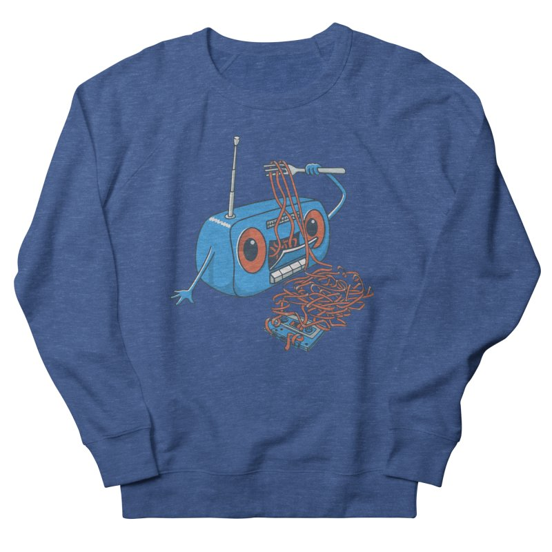 spaghetti Men's French Terry Sweatshirt by gotoup's Artist Shop
