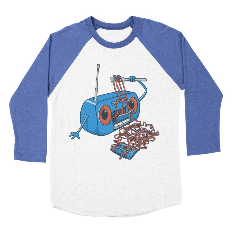 spaghetti Men's Baseball Triblend Longsleeve T-Shirt by gotoup's Artist Shop