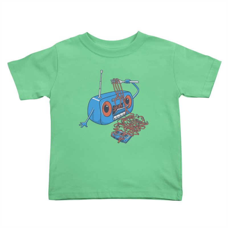 spaghetti Kids Toddler T-Shirt by gotoup's Artist Shop