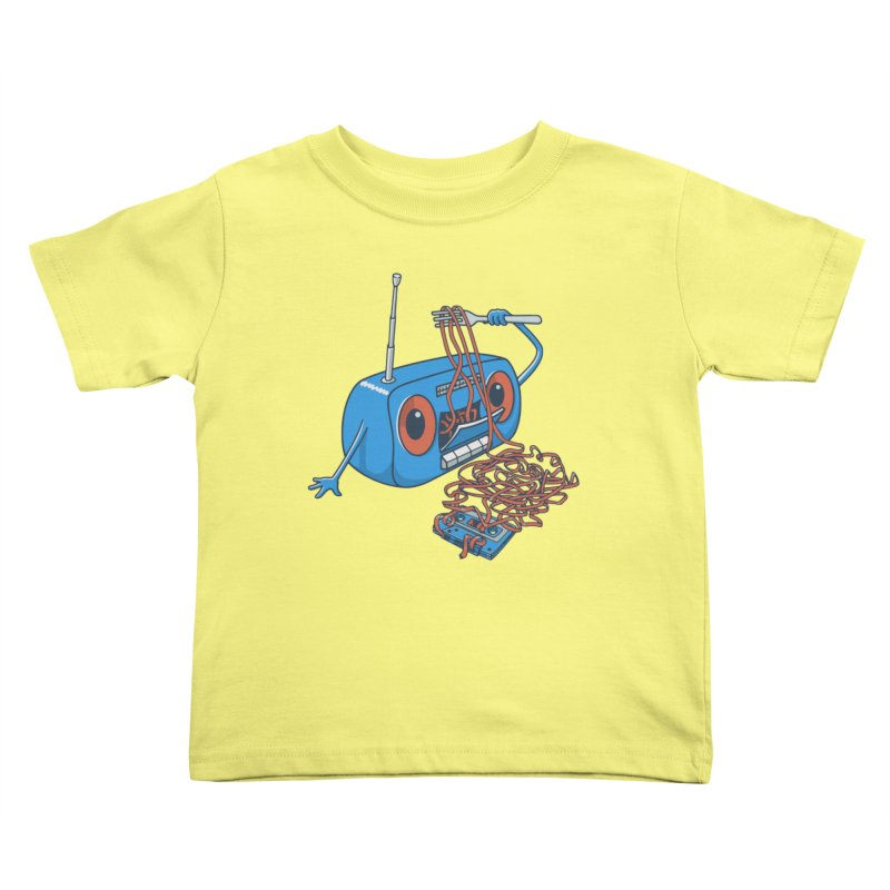 spaghetti Kids Toddler T-Shirt by gotoup's Artist Shop