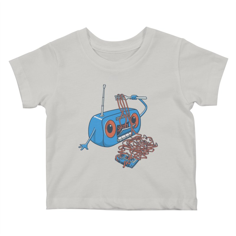 spaghetti Kids Baby T-Shirt by gotoup's Artist Shop