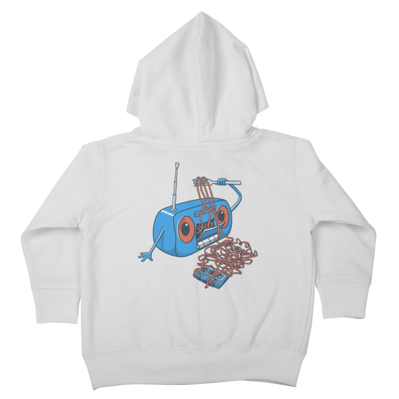 spaghetti Kids Toddler Zip-Up Hoody by gotoup's Artist Shop