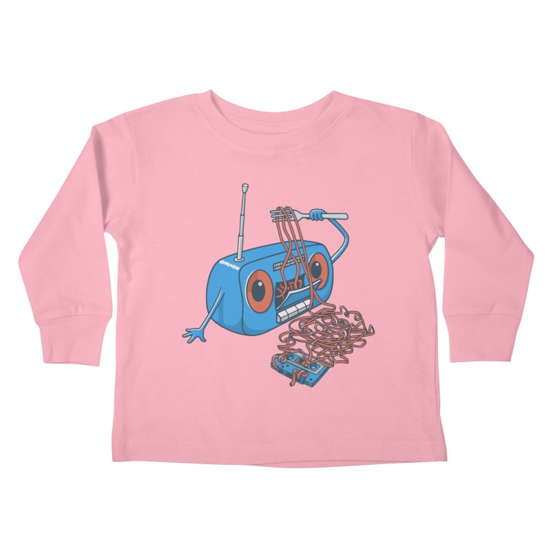 spaghetti Kids Toddler Longsleeve T-Shirt by gotoup's Artist Shop