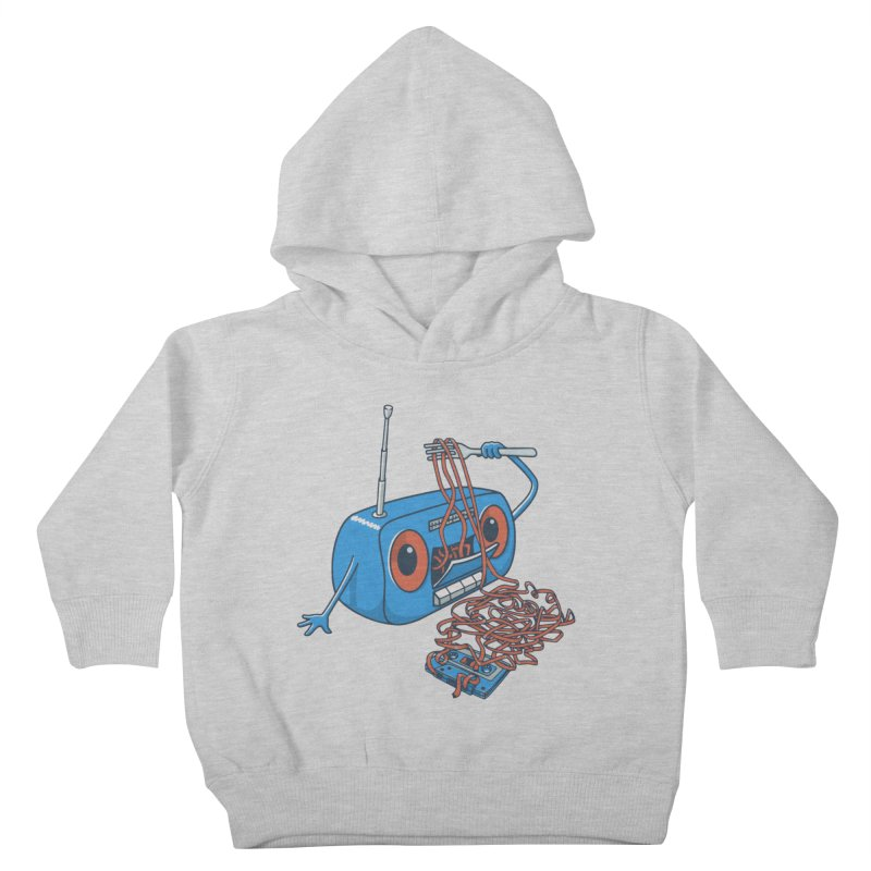 spaghetti Kids Toddler Pullover Hoody by gotoup's Artist Shop
