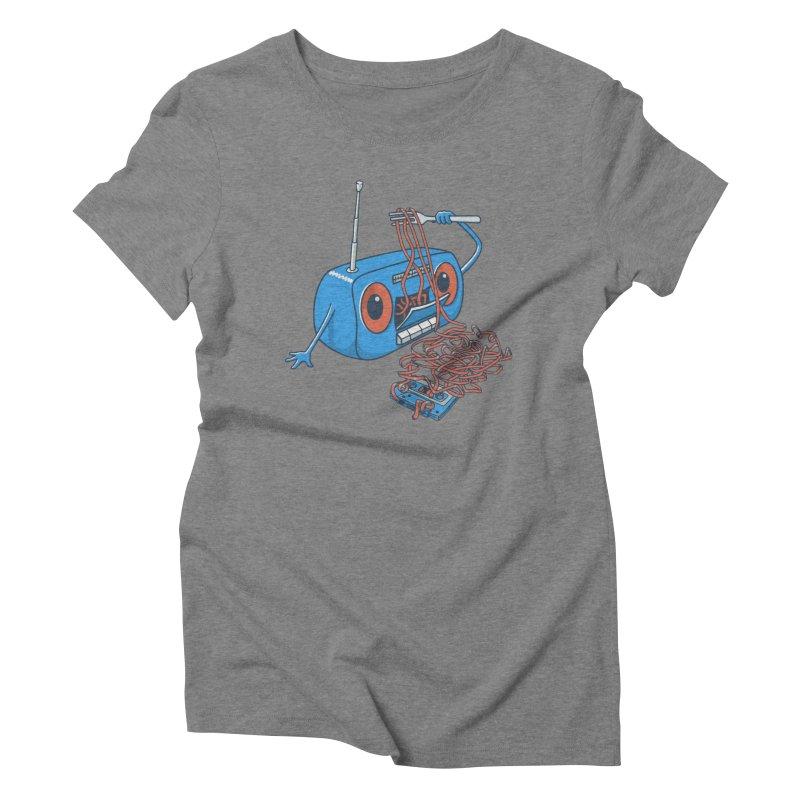 spaghetti Women's Triblend T-shirt by gotoup's Artist Shop