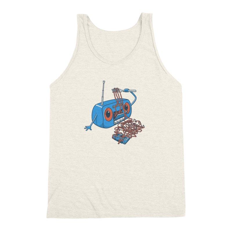 spaghetti Men's Triblend Tank by gotoup's Artist Shop