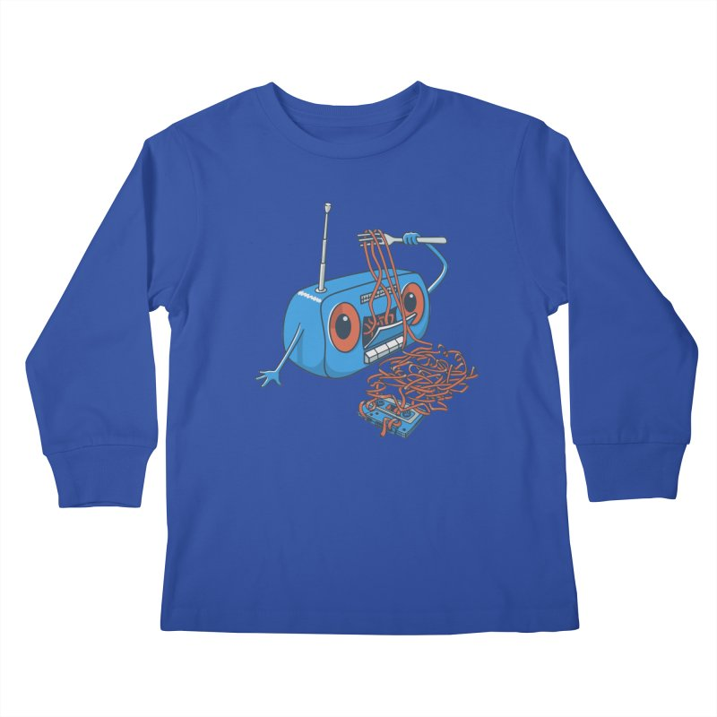 spaghetti Kids Longsleeve T-Shirt by gotoup's Artist Shop