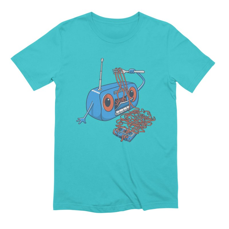 spaghetti Men's Extra Soft T-Shirt by gotoup's Artist Shop