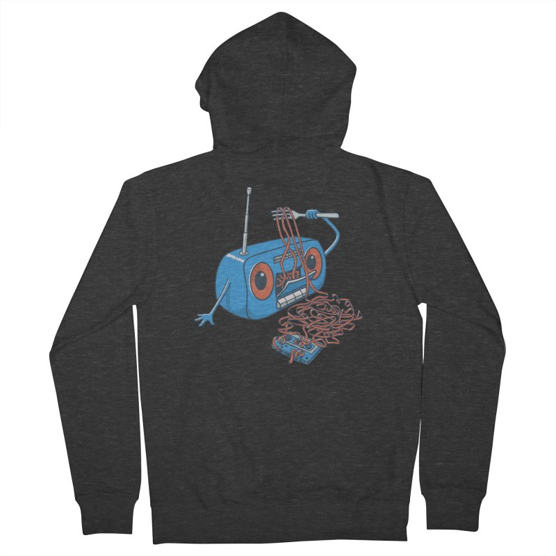 spaghetti Women's French Terry Zip-Up Hoody by gotoup's Artist Shop