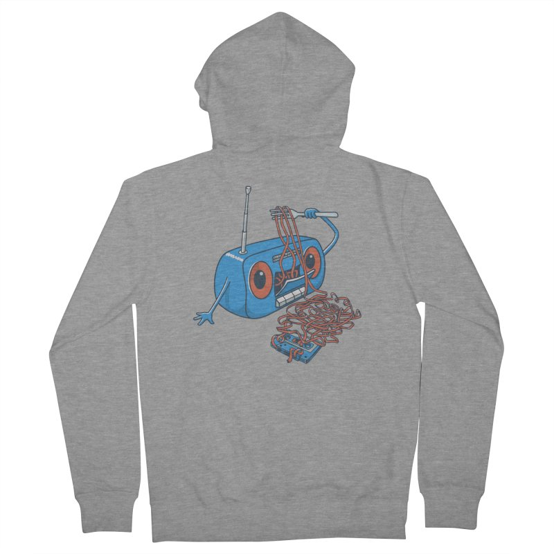 spaghetti Men's French Terry Zip-Up Hoody by gotoup's Artist Shop