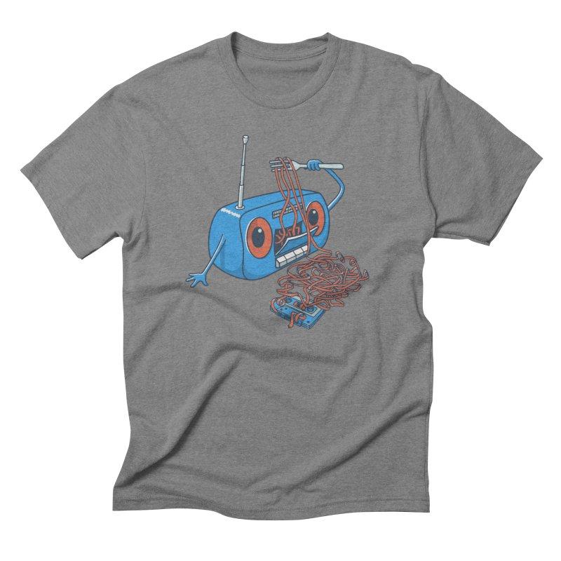 spaghetti Men's Triblend T-Shirt by gotoup's Artist Shop