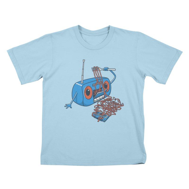 spaghetti Kids T-Shirt by gotoup's Artist Shop