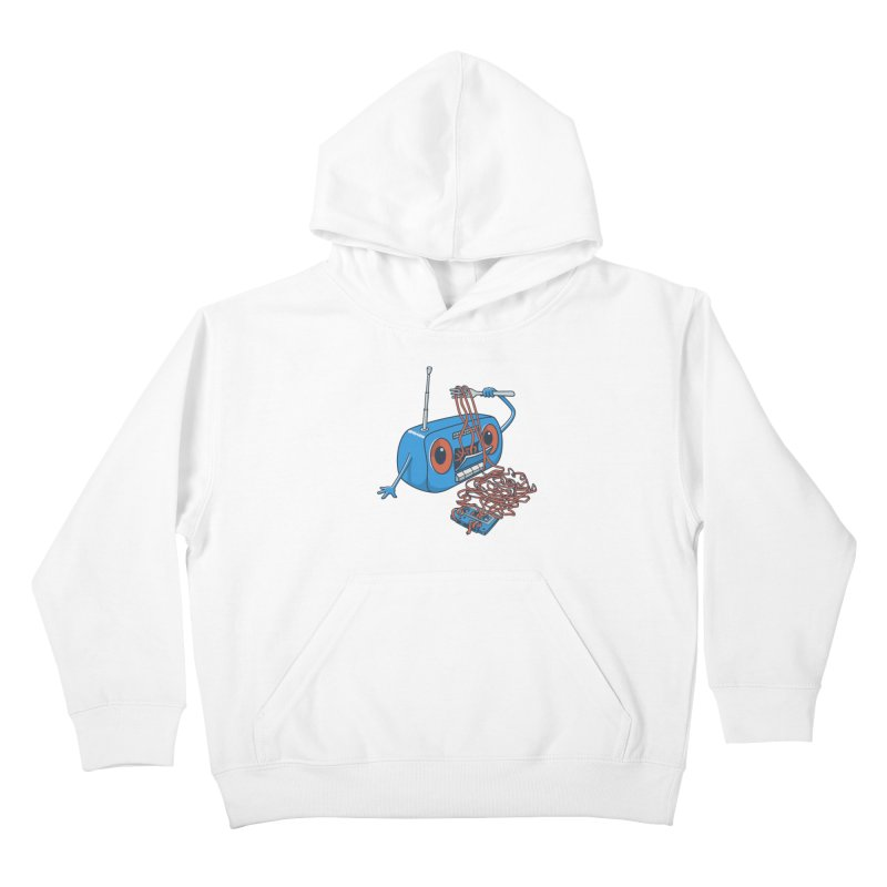 spaghetti Kids Pullover Hoody by gotoup's Artist Shop