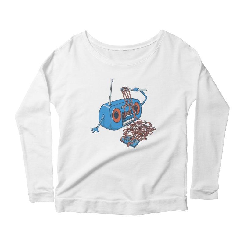 spaghetti Women's Scoop Neck Longsleeve T-Shirt by gotoup's Artist Shop