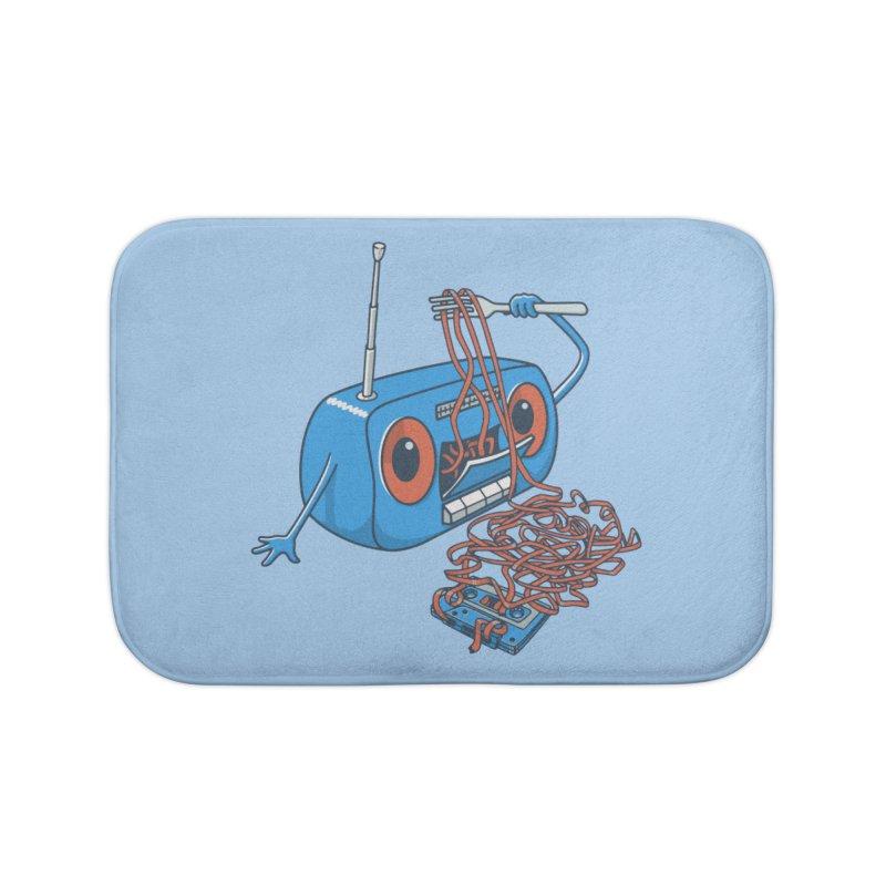 spaghetti Home Bath Mat by gotoup's Artist Shop