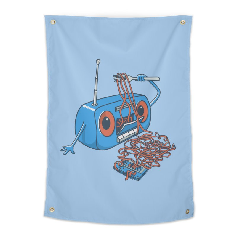 spaghetti Home Tapestry by gotoup's Artist Shop