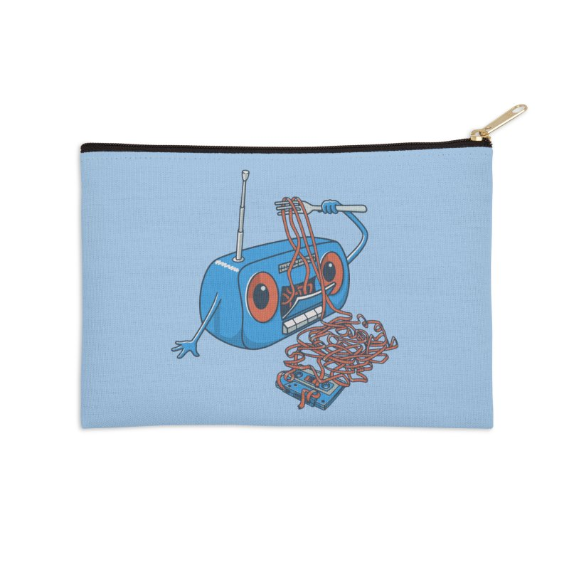 spaghetti Accessories Zip Pouch by gotoup's Artist Shop