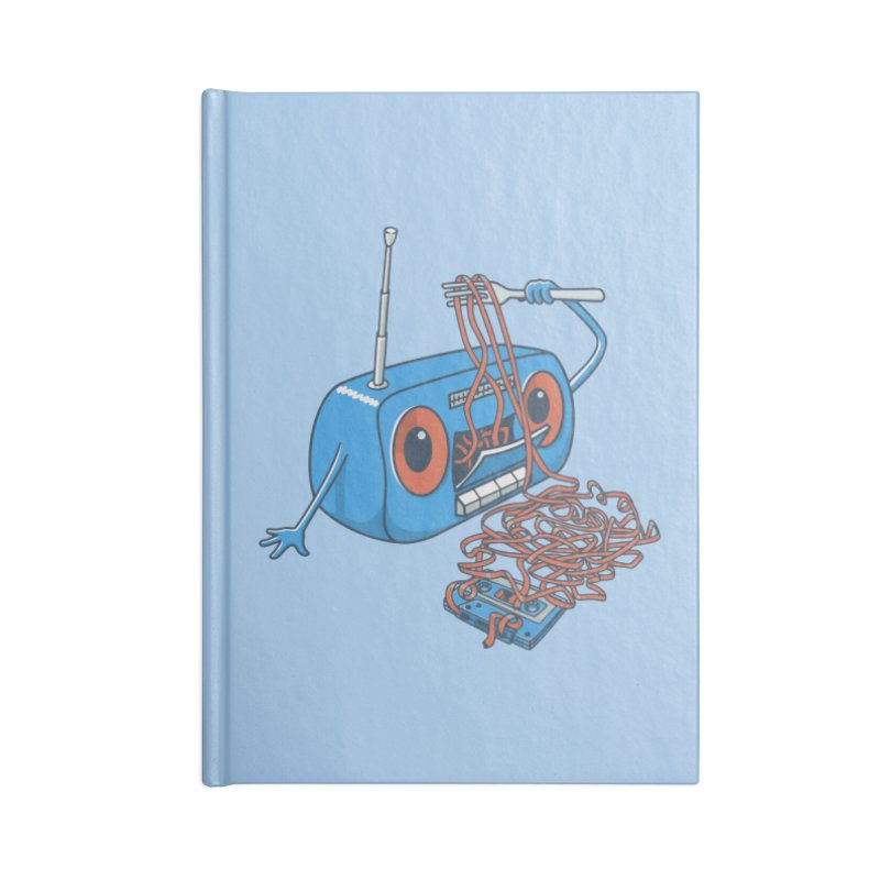 spaghetti Accessories Notebook by gotoup's Artist Shop