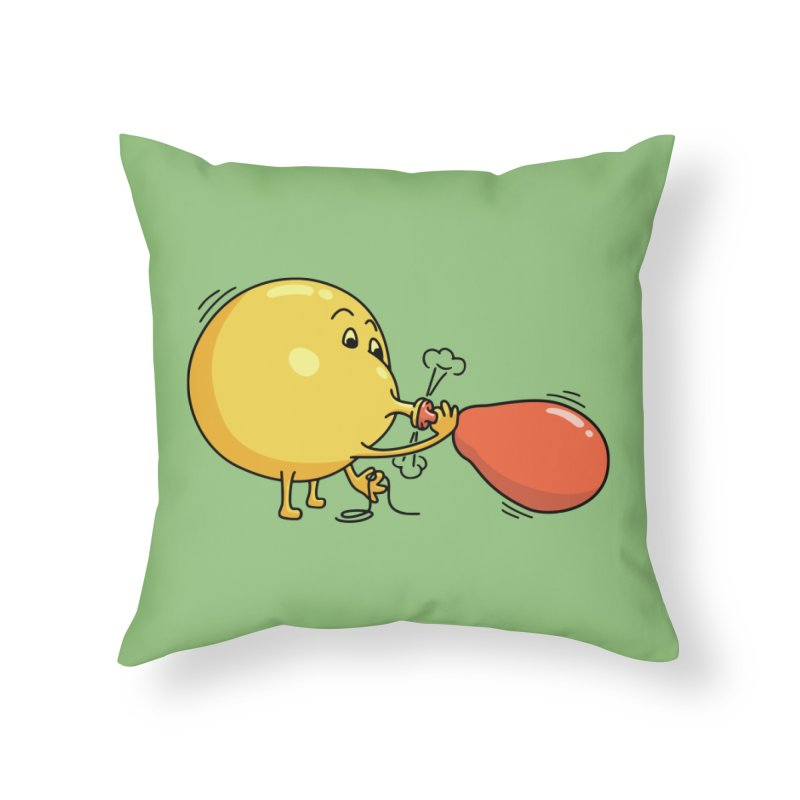 BALLOONS Home Throw Pillow by gotoup's Artist Shop