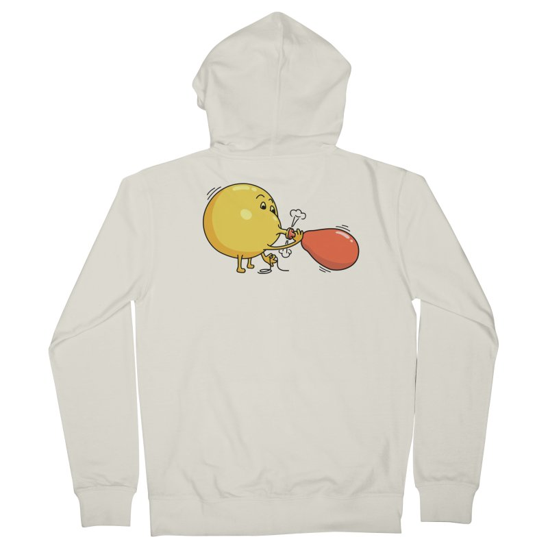BALLOONS Women's French Terry Zip-Up Hoody by gotoup's Artist Shop