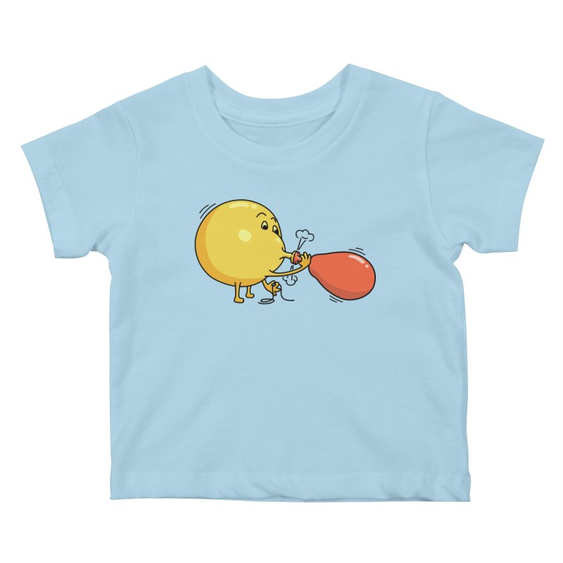 BALLOONS Kids Baby T-Shirt by gotoup's Artist Shop