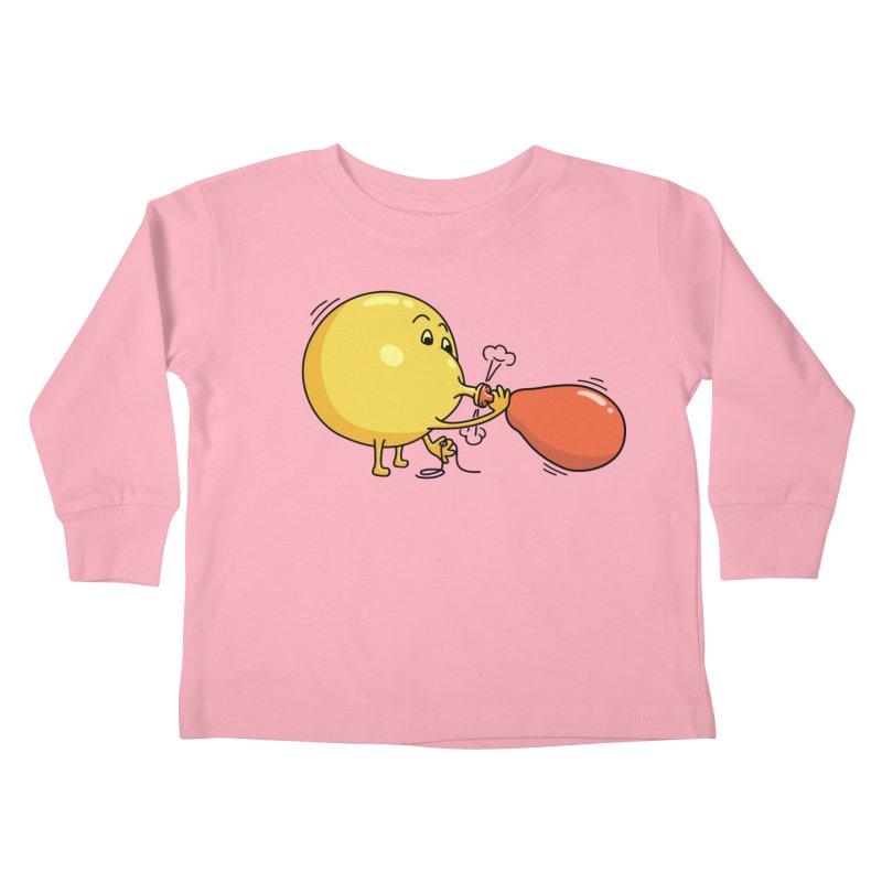 BALLOONS Kids Toddler Longsleeve T-Shirt by gotoup's Artist Shop
