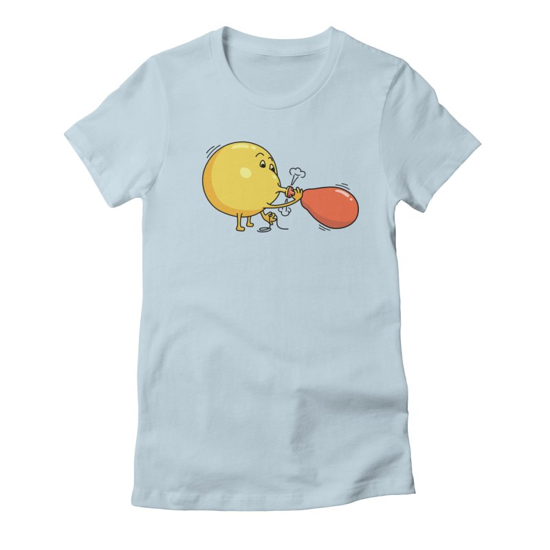BALLOONS Women's Fitted T-Shirt by gotoup's Artist Shop