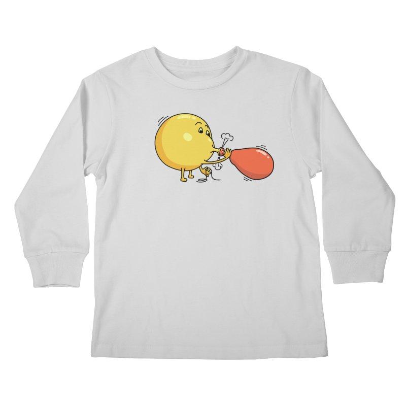 BALLOONS Kids Longsleeve T-Shirt by gotoup's Artist Shop