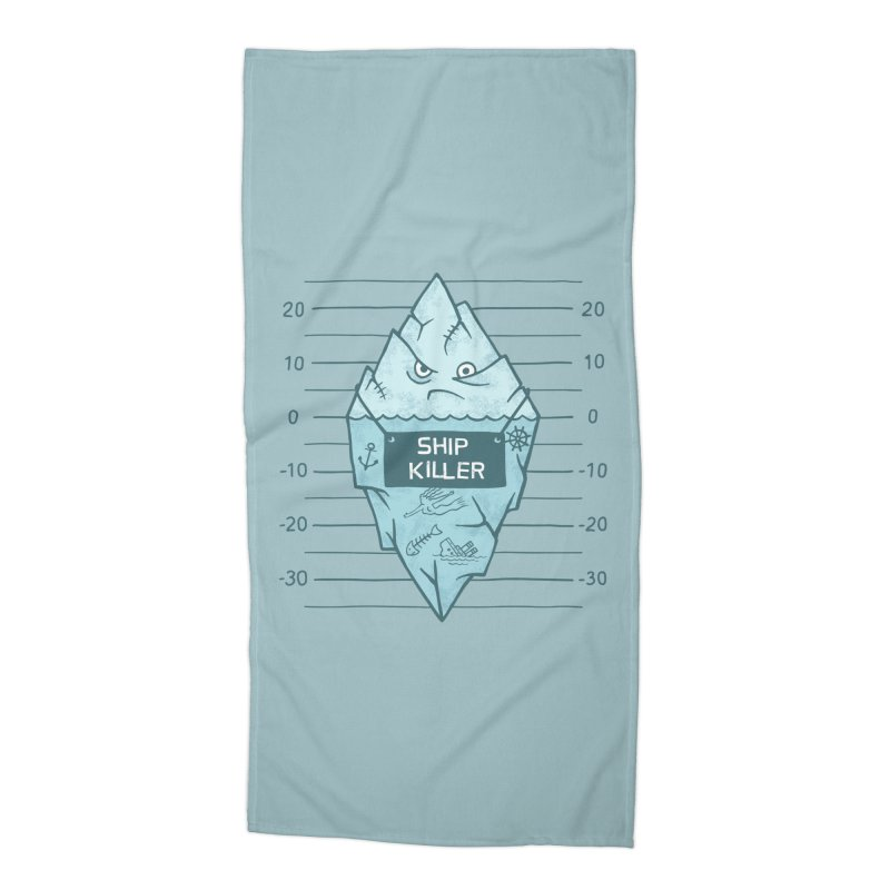 SHIP KILLER Accessories Beach Towel by gotoup's Artist Shop